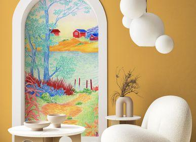 Other wall decoration - Wallpanel Bamboulino Lac Arc-en-ciel - PAPERMINT