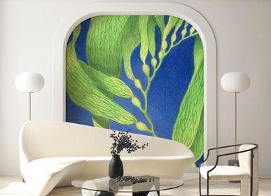 Other wall decoration - Wallpanel Bamboulino Algue marine Vert chlorophylle - PAPERMINT