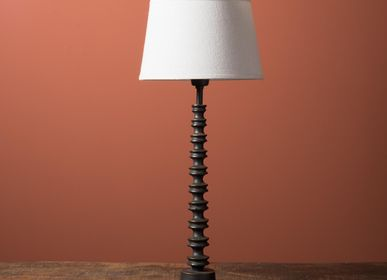 Table lamps - LAMP (25) Vertebra black patina - CHEHOMA