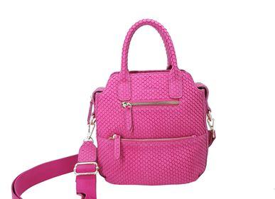 Bags and totes - Leather bag, handbag VELYANE - .KATE LEE