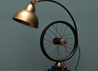 Desk lamps - LAMP Velocipède A/J brass - CHEHOMA