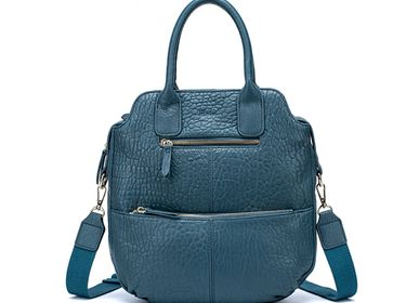 Bags and totes - Leather handbag, bag with strap VELYA - .KATE LEE