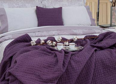 Bed linens - Rose - Jacquard Collection - MIA ZARROCCO - FINE LINENS