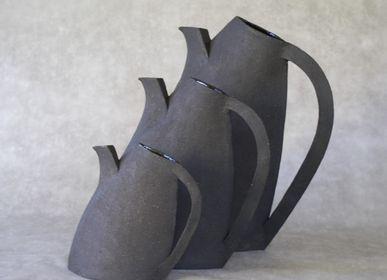 Carafes - Pichet EMA Noir 1200ml - ANNE KRIEG, CERAMISTE
