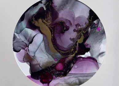 Paintings - Peinture à l'alcool sur papier 30x30cm  - ARTYPIC
