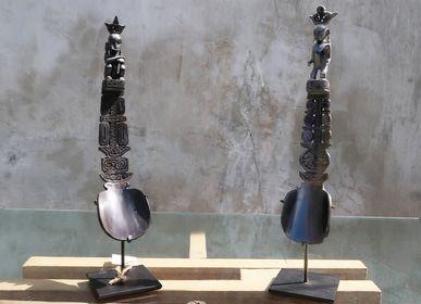 Objets de décoration - Cuillère en corne de Buffalo sculp - NYAMAN GALLERY BALI