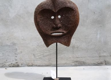 Objets de décoration - Masque traditionnel de Baleine Os - NYAMAN GALLERY BALI