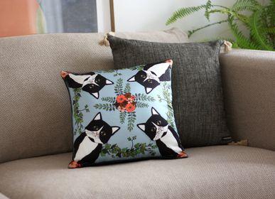 Fabric cushions - CLEO Silk cushion - MY FRIEND PACO