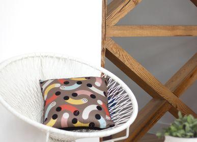 Fabric cushions - MUSH MUSH silk cushion - MY FRIEND PACO