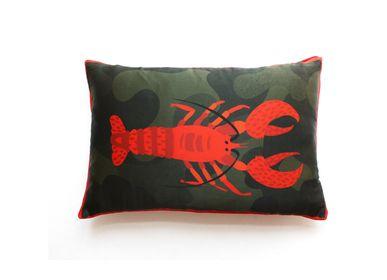 Fabric cushions - CRUST Silk Cushion - MY FRIEND PACO