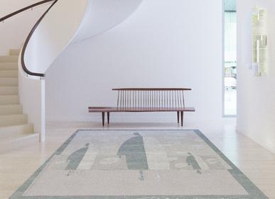 Objets de décoration - Men gris designer tapis par Tapis Rouge - TAPIS ROUGE