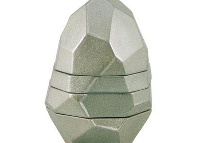 Assiettes de réception - Pépites - Rocher, 3 secrets (base creuse) Hauteur 14,5 cm - RAYNAUD