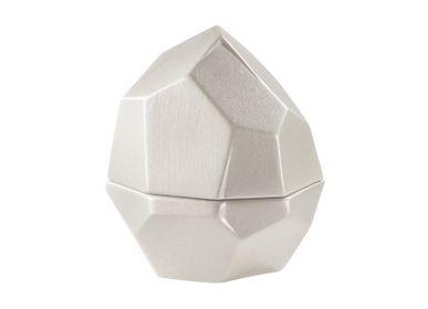 Assiettes de réception - Pépites - Rocher, 1 secret (base creuse) Hauteur 9 cm - RAYNAUD