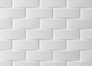 Faience tiles - Repeat Wave - Porcelain Tiles - RAVEN - JAPANESE TILES