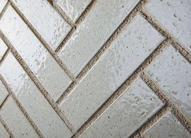 Faience tiles - Tsuya Washi - Porcelain Tiles - RAVEN - JAPANESE TILES