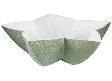 Decorative objects - Minéral Irisé - Star cup celadon 19 - RAYNAUD