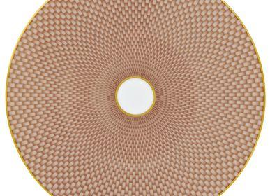Formal plates -  Trésor - Plate cut pattern n°2 beige 22 - RAYNAUD