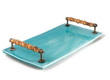 Formal plates - Ceramic tray - THEA