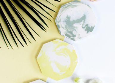 Decorative objects - Dessous de verre Octogone - STUDIO ROSAROOM
