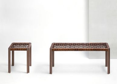 Stools for hospitalities & contracts - STRUCTURA CRISSCROSS STOOLS & BENCHES - GIOBAGNARA