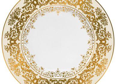 Formal plates - Chelsea - Rim plate flat ivory 27 - RAYNAUD