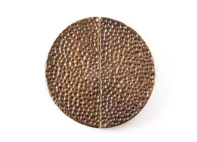 Artistic hardware - Hammered handle round  - THEA