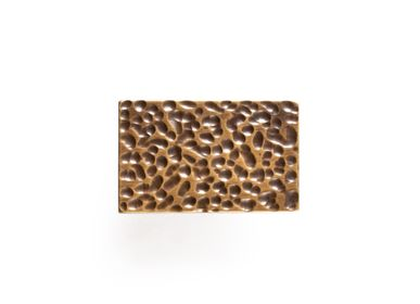 Artistic hardware - Hammered handle rectangle  - THEA