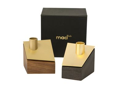 Candlesticks and candle holders - Impluvium brass - MAD LAB