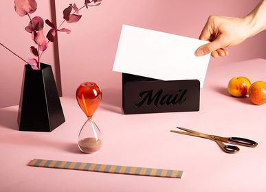 Plateaux - Minimalistic Simple Design Metal Mail Holder and Desk Organiser - OUTSPIRATIONS