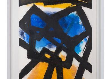 Paintings - VIDRIERAS I - MONTXO OIARBIDE ART