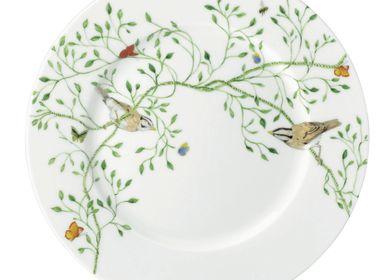 Assiettes de réception -  Histoire Naturelle - Assiette plate à aile n°1 22 - RAYNAUD