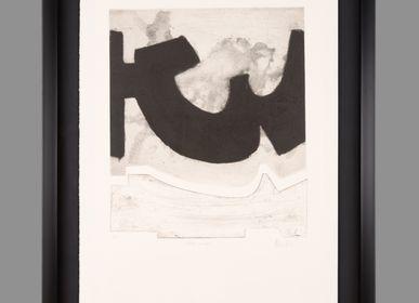 Paintings - CARBON Y AGUA III PAINTING - MONTXO OIARBIDE ART