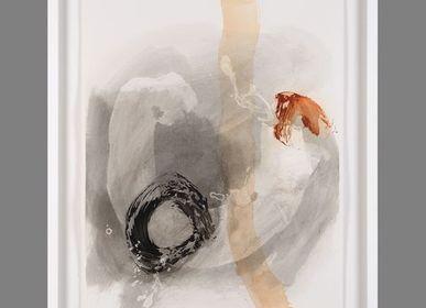 Paintings - ACUARIO I - MONTXO OIARBIDE ART