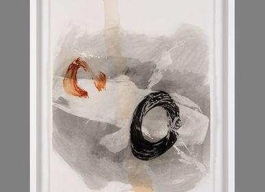 Paintings - ACUARIO II - MONTXO OIARBIDE ART