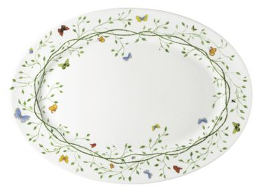 Platter and bowls -  Histoire Naturelle Oval dish 41 - RAYNAUD