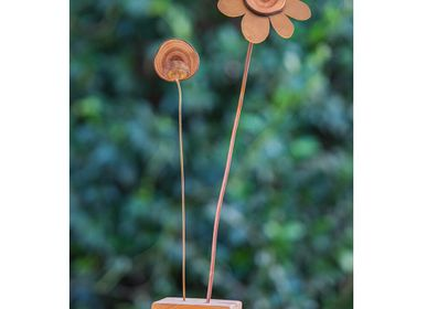 Sculptures, statuettes et miniatures -  Fleur de Bois - ELZA PEREIRA