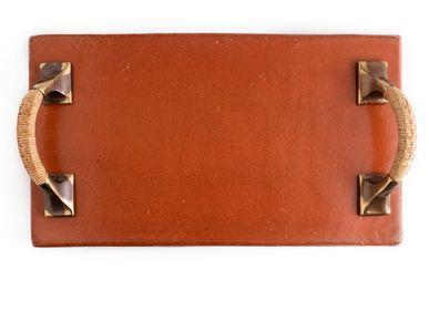 Trays - Terracotta tray - THEA