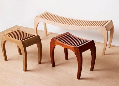 Stools - RUMBO stool - VAN DEN HEEDE-FURNITURE-ART-DESIGN