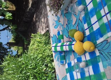Table linen - hand painted placemat - BACIO DEL MARINAIO