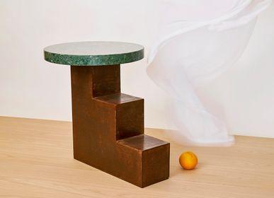 Coffee tables - Table STAIRCASE 1- 2- 3 iron - VAN DEN HEEDE-FURNITURE-ART-DESIGN