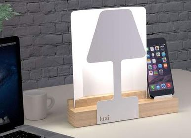 Decorative objects - LUXI Table Lamp - ALUMINOR