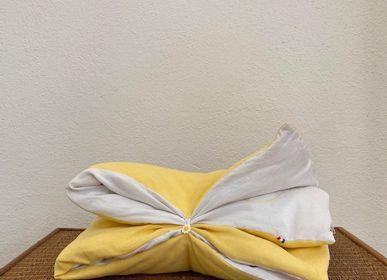 """Homeweartextile - L'édredon bébé """"les libellules"""" jaune - 60x80 cm - L'ATELIER DES CREATEURS"""