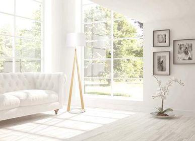 Decorative objects - Floor lamp ZAZOU LS - ALUMINOR