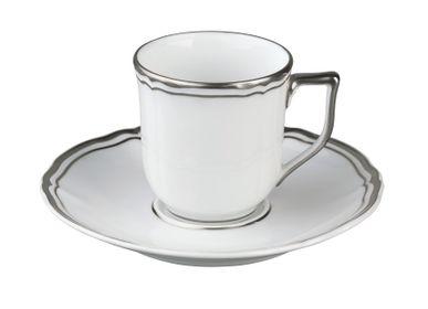 Mugs -  Polka Platine - Coffee cup without foot 13 - RAYNAUD