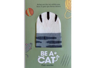 "Gifts - ""Be a cat"" Cat-Socks - DESIGNER SOUVENIRS"