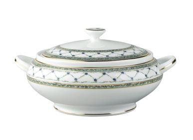 Platter and bowls -  Allée Du Roy - Covered vegetable dish 18 - RAYNAUD