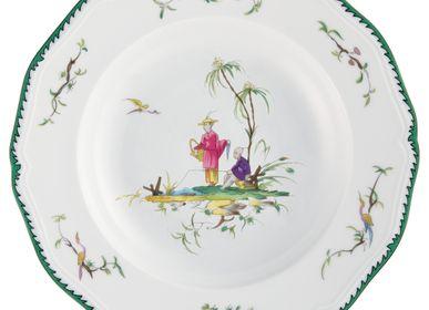 Formal plates -  Longjiang - Rim plate deep n°6 23 - RAYNAUD