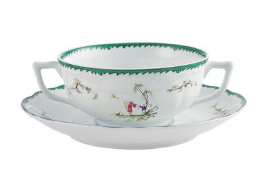 Bowls - Longjiang - Cream soup cup without foot n°1 32 - RAYNAUD