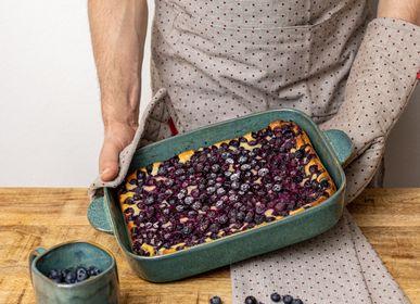 Food processor - Baking Dish INDUSTRIAL Emerald & Lavender - TRANQUILLO