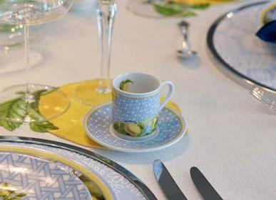 Assiettes au quotidien - Assiette en porcelaine à motifs citron Hazeran 20 cm - VITELLI DESIGN STUDIO